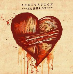 CD-Cover vorne: Hommage - Akkitation