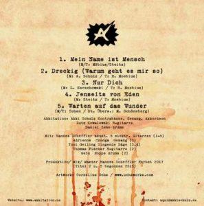 CD-Cover Hommage - Akkitation